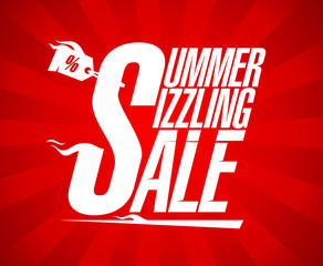 Summer sizzling sale design