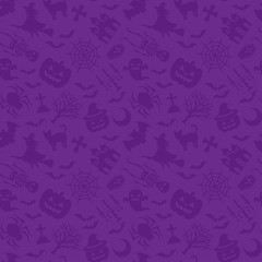 ハロウィン 紫 壁紙