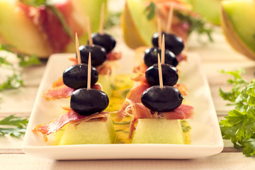 Creative appetizer