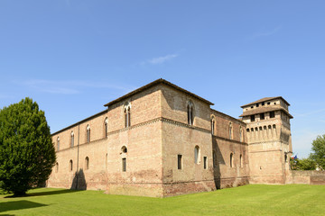 Sforzesco Castle south west view, Pandino