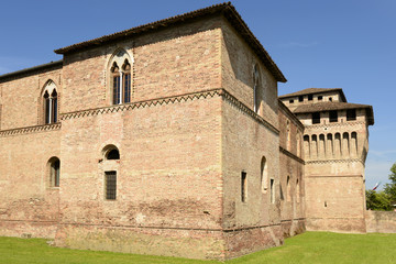 Sforzesco Castle south west tower, Pandino