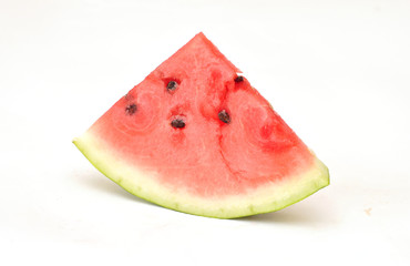 Juicy, ripe and delicious slice of watermelon
