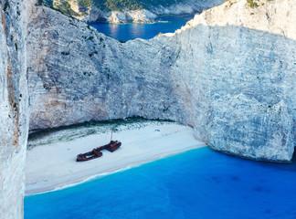 Navagio bay (Zakynthos, Greece)