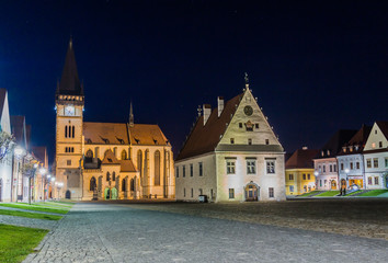 The Town Hall Square in Bardejov