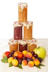 Appetizing Fruit Jams