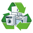 Recycle large electronic appliances - 67666116