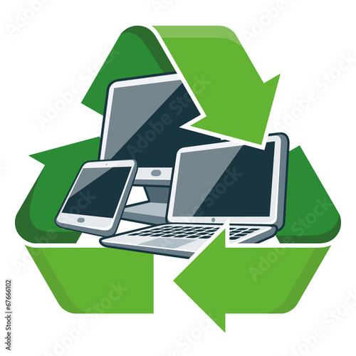 Recycle electronic devices - 67666102