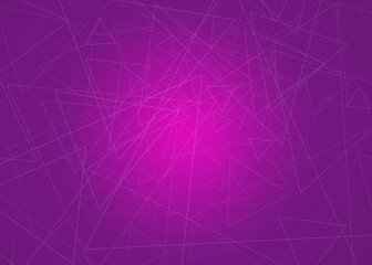 Abstract modern triangles background