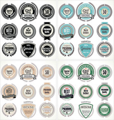 premium quality labels, collection