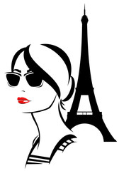 Paris fashion woman