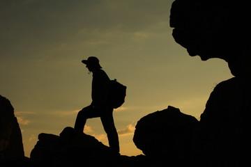 dağcı yolculuğu