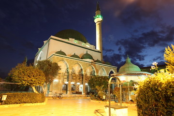 Mosque of Al-Jazzar in Acre ( also Akko ) in Western Galilee,  I