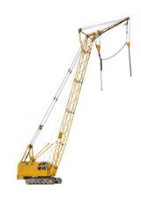 Building crane.