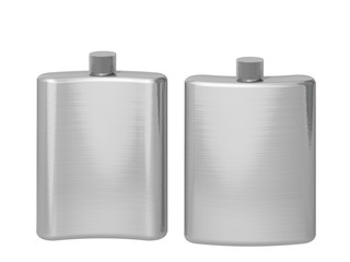 flask on a white background