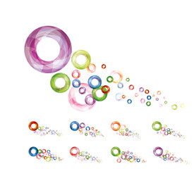 colorful circle graphic