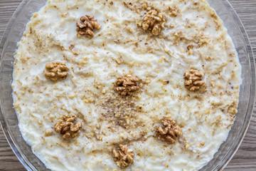 Gullac, Turkish Traditional Milk Dessert