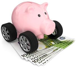 Sparen für ein neues Auto