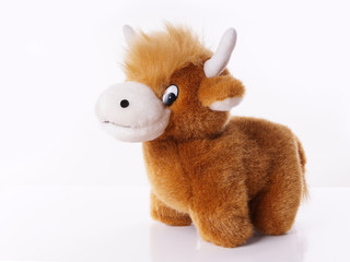 highland cattle plush toy