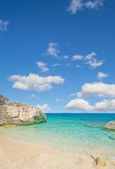 Cala Mariolu on a clear day, Sardinia