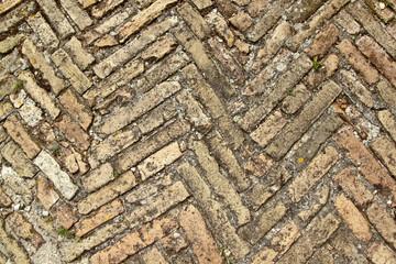 Herringbone bricks bis