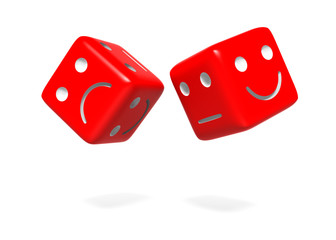 Lucky and Happy Dice