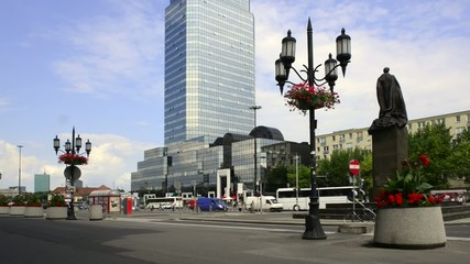 Bank Square in Warsaw