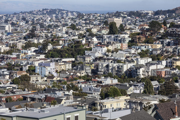 San Francisco Urban Hillside