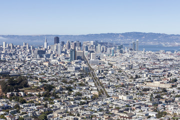 San Francisco Cityscape View