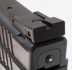 Isolated rear sight