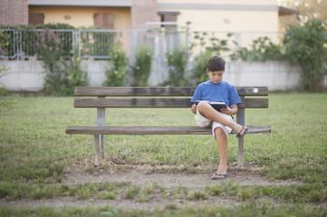 Lettura nel parco