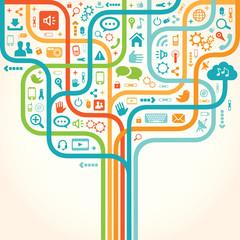 Network tree