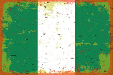 Flag Nigeria