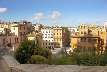 old district of Rome