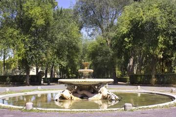 fountain, Villa Borghese gardens, Rome