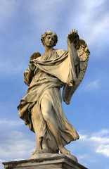 Angel blesses Rome