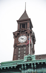 Lackawanna R.R. clock tower