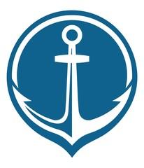 blue anchore icon