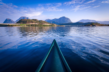 Canoe adventure in Norway