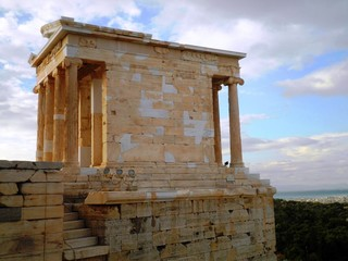 Acropolis Temple Athens Greece