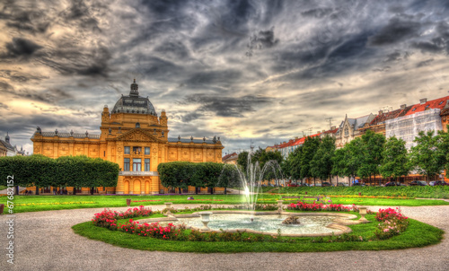 King Tomislav Square in Zagreb, Croatia - 67682152