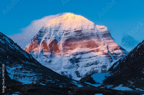 Foto op Plexiglas China Tibet. Mount Kailash. North face