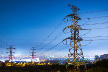 High voltage tower