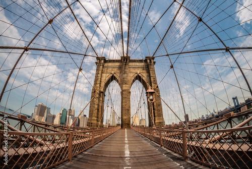 Foto op Aluminium New York Brooklyn Bridge