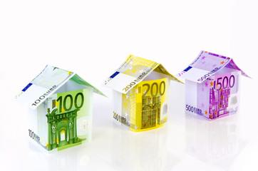 Verschiedene Geldhäuser