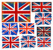 roleta: Set of England Flag
