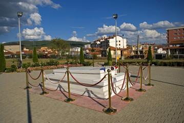 Ibrahim Rugova's tomb, Pristina, Kosovo