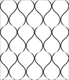black repetition line seamless pattern3 poster