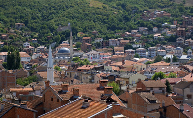 Landscape of the city, Prizren, Kosovo