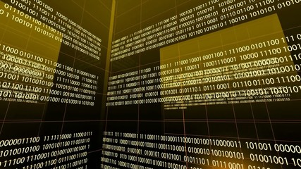 Binary Code Digital Technology