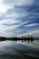 Port of Stockton Reflection